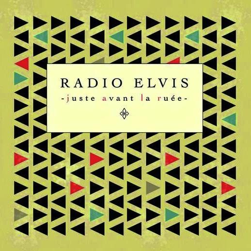 Radio Elvis Goliath Pochette d'album Chanson française underground