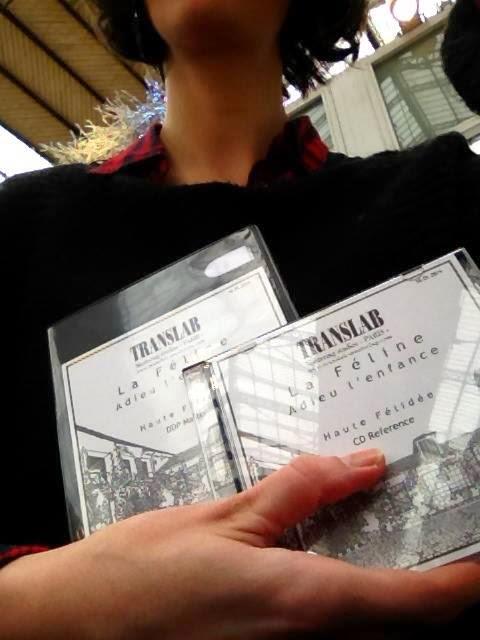 La Féline - Adieu l'Enfance - album