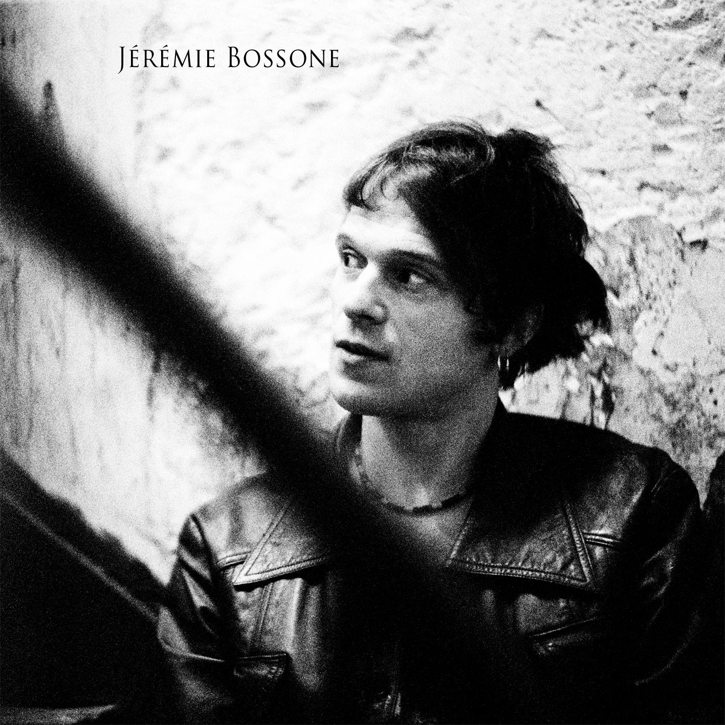 Jérémie Bossone Pochette du 1er EP