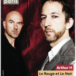 Arthur H & Nicolas Repac en concert à Paris au Centquatre - 104