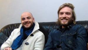 3 minutes sur mer groupe rock français underground - Guilhem Valayé et Samuel Cajal