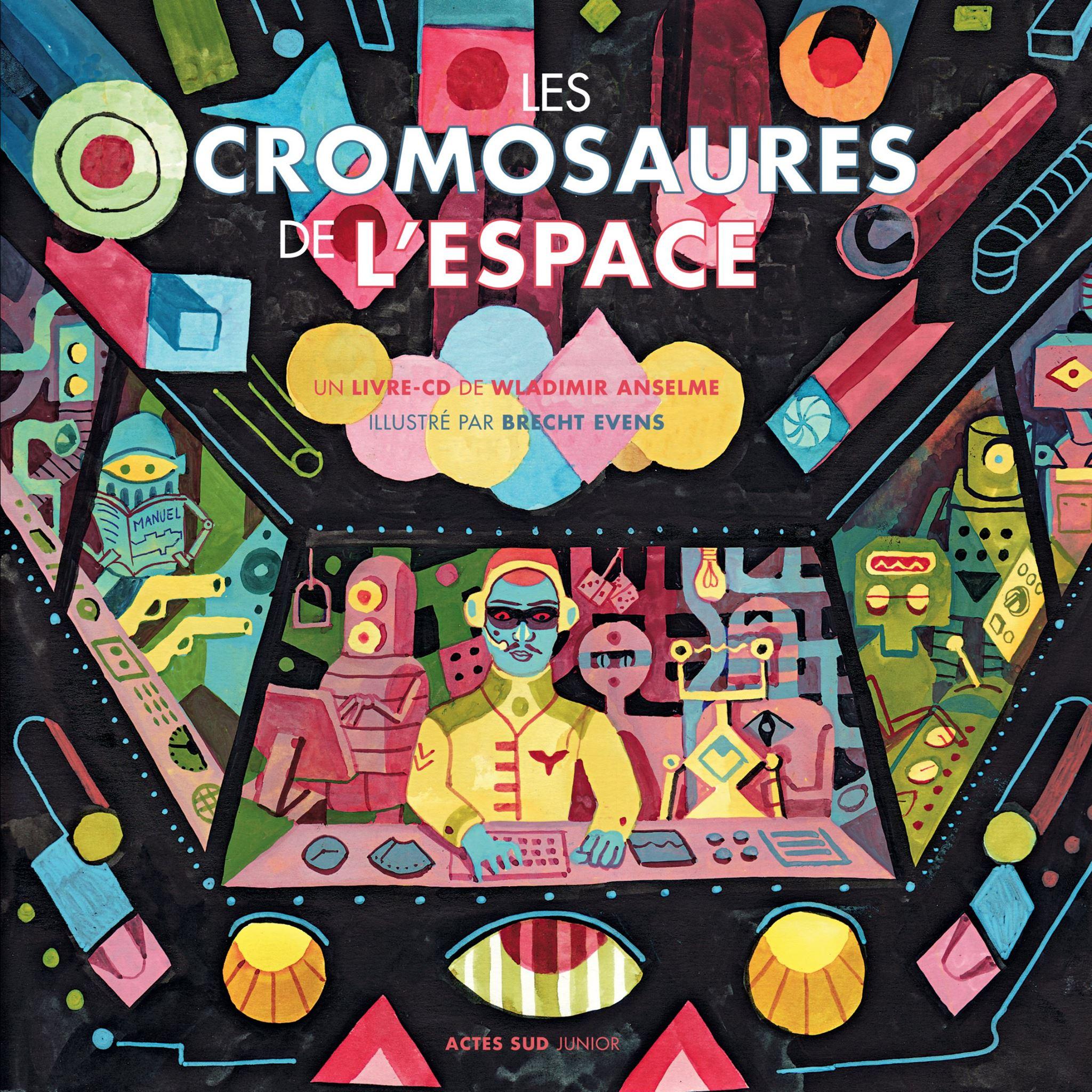 Wladimir Anselme - Les Cromosaures de l'Espace