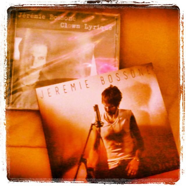 Jérémie Bossone album Gloires - CD chanson française underground - scène rock française indé
