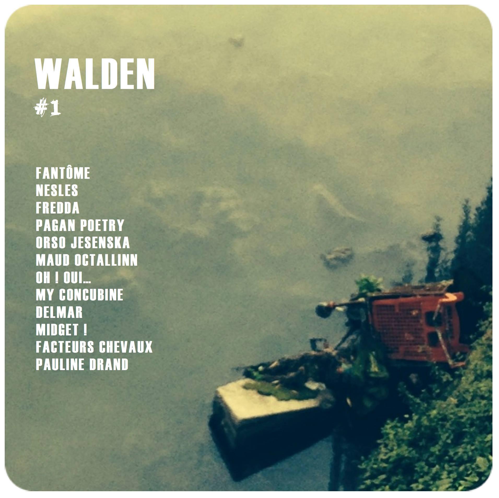 Walden #1 - compilation - scène musicale française indé Paris