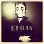 Nesles - Nu - pochette d'album - chanson française folk alternative indépendante souterraine underground Paris