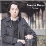 Survier Flores violon CD pochette musique Paris