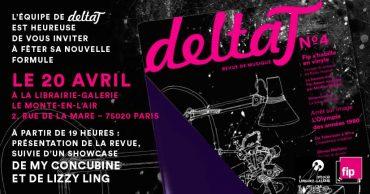 Revue Delta T musique musiciens Paris